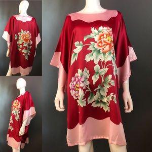 YI JIN QI Print Tunic/Dress